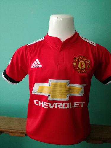 697586dd29124 Camiseta Manchester United Niño 2018 Alexis Roja!!