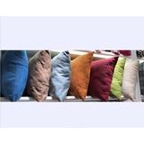 Fundas De Cojin Lino Colores 42x42