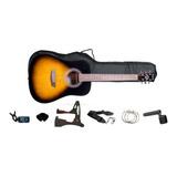 Pack De Guitarra Acustica Gwl George Washburn Limited/urdile