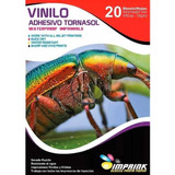 Vinilo Adhesivo Tornasol Imprimible A4/20h Envío Gratis X 3