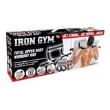 Iron Gym Barra De Ejercicio Multifuncional