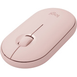 Mouse Inalam/bt Logitech Pebble M350 Rose  - Pc Click