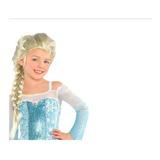 Disfraz  Peluca De Elsa Y Frozen.