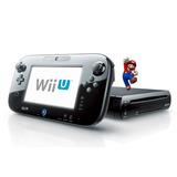 Wii U+ Disco Duro De 500 Gb.75 Juegos. 6 Meses Garantía