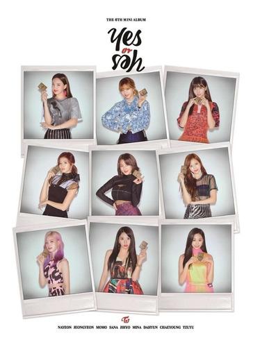 Twice Disco Yes Or Yes! Ver. Blanca  Incluye Poster Kpop Cd