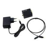 Adaptador Conversor Audio Toslink Optico Analogo Rca + Cable