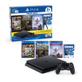 Playstation 4 1tb Mega Pack 3 Juegos Joystick Cupón Fortnite