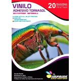 Vinilo Adhesivo Tornasol A4/20hojas..envio Gratis X 3 Un!