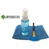 Kit Limpieza 3 En 1 Paño Cepillo Y Gel Notebook Celulares