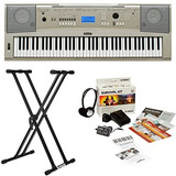 < Yamaha > Ypg-235 76-key Bundle Piano De Cola...