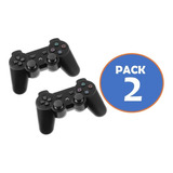 Pack 2 Control Joystick  Ps3 Dualshock 3 Inalámbrico 34581
