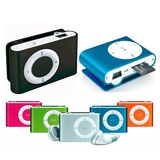 Pack 20 Reproductor Mp3 Clip Tipo Shuffle +audifonos + Cable