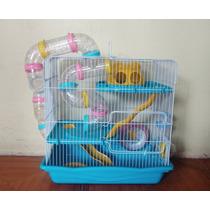 Jaulas Para Hamster De 3 Pisos Con Tubos Envio Gratis