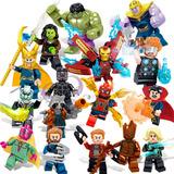 Set 16 Figuras Avengers Compatible Con Lego Marvel