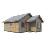Casa Prefabricada Modelo Ranco 45 M2