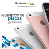 Reparación De Placas De Iphone 5/ 6/6plus/6s/6splus/7/7plus