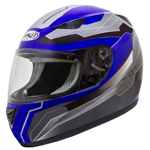 b92feaa30d4af Casco Moto Integral Saiko Kotarr Azul Talla M España.   34990