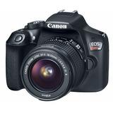 Camara Reflex Canon Eos Rebel T6 +18 55mm + Sd 16gb