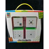 Cubos Rubik Moyu Mofangjiaoshi 2x2 3x3 4x4 5x5 Gift Pack