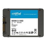 Disco Ssd 240gb Crucial Bx500 3d Sata 6.0gb/s 2.5