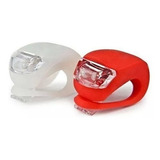 Pack 2 Luces Led Bicicleta Silicona