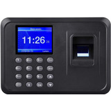 Reloj Biometrico Reconocimiento Dactilar Control Personal