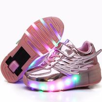 Led Roller Shoes Zapatillas Con Ruedas Niños/ Acercachina