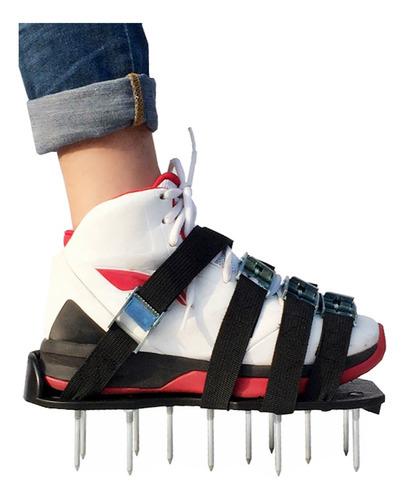 Césped Aireador Zapatos 2.2 Spike Aireación Sandalias Con