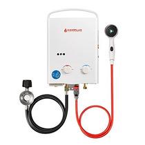 Camplux 5l 1.32 Gpm Calentador De Agua Sin Tanque De Propan