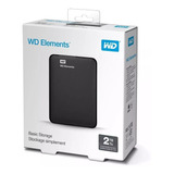 Disco Duro Externo 2tb +western Digital + Usb 3.0