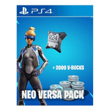 Fortnite Neo Versa + 2000 Pavos - Ps4 Usa/chile