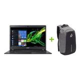 Notebook Acer Aspire 3  Celeron +4gb Ram+ W10 +14' +mochila