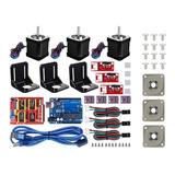 Impresora 3d Cnc Kit Para Arduino +3 Amortiguadores Impresor