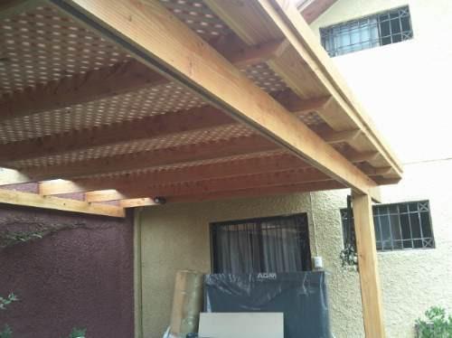 Pergolas cobertizos quinchos otros a clp 30000 en for Cobertizos de madera precios