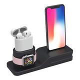 Estación De Carga 3 En 1 Para Apple Watch,iPhone,AirPods
