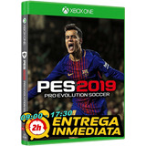 Pes 2019 Pro Evolution Soccer Xbox One Original Offline