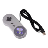 Control Snes C/cable Usb Para Pc/mac Nuevo Garantia
