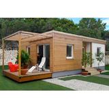 Casas Prefabricadas, 61 M2, Eficiencia Energética.
