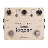 Donner Looper Deluxe Guitarra Efecto Pedal Loop Estación