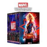 Coleccion Bluray Universo Marvel.