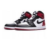 Air Jordan 1 Alto Og Bred Toe Blanco Negro Rojo