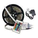 Pack 2 Cintas Tira 300 Luces Led 5 Mt Rgb Multicolor Control