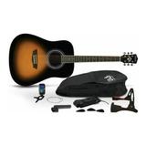 Pack Guitarra Acustica Gwl G Washburn Limited / Arthur Music