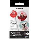 Canon Ivy Zink - Papel Adhesivo (20 Hojas)