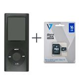 Reproductor Multimedia Mp4 Player + Memoria Micro Sd 16gb V7