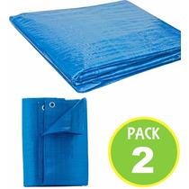 Pack 2 Cubierta Lona Multiuso Carga 5x5 Mts 62746/ Fernapet
