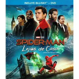 Película Bluray Spider-man: Lejos De Casa Bluray + Dvd