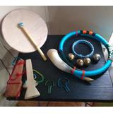 Set (e)de Instrumentos Musicales Mapuches