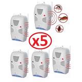 Pack 5 Repelente Ratones Insectos Hogar Ultra Sonido