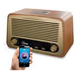 Parlante Bluetooth Microlab Vintage Radio / Mundo Electro